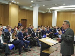 Форум «Инфосибирь»: главный специалист МИАЦ Е. Коган об ЭМК петербуржца