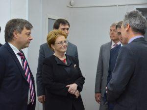 Санкт-Петербургский МИАЦ с рабочим визитом посетила Министр здравоохранения РФ Вероника Скворцова