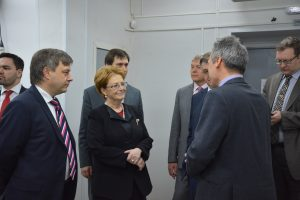 Министр здравоохранения РФ Вероника Скворцова с рабочим визитом посетила СПб МИАЦ