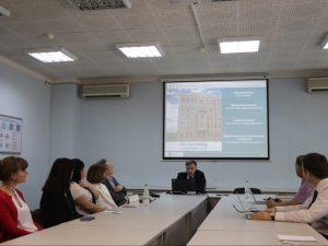 Рабочая группа из Тамбовской области посетила Петербургский МИАЦ