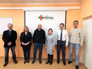 Рабочая встреча Санкт-Петербургского и Алтайского МИАЦ: курс на сотрудничество и обмен опытом