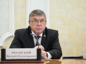 В. Рязанский: При реализации нацпроектов основные усилия в сфере здравоохранения нужно направить на поддержку первичного звена
