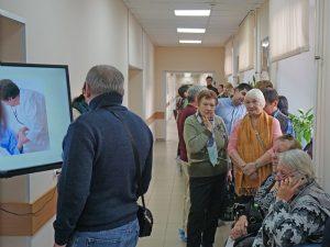 Петербуржцы прошли бесплатное комплексное обследование во Всемирный день борьбы с инсультом