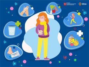Заболеваемость гриппом и ОРВИ в Петербурге превысила недельный эпидемический порог