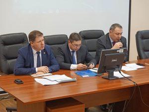 Первое заседание Лабораторного совета в Комитете по здравоохранению