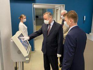 Губернатор Санкт-Петербурга Александр Беглов с рабочим визитом посетил СПб МИАЦ