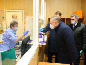 Александр Беглов заявил о необходимости перехода всех поликлиник на электронные медкарты