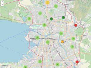 СПб МИАЦ запустил интерактивную карту поиска свободных мест на вакцинацию от коронавируса